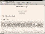 LyX screenshot